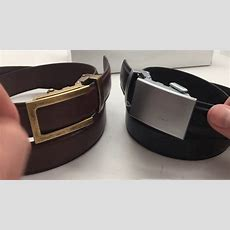 Anson Belt Review  Classic Vs Traditional Buckle And 1