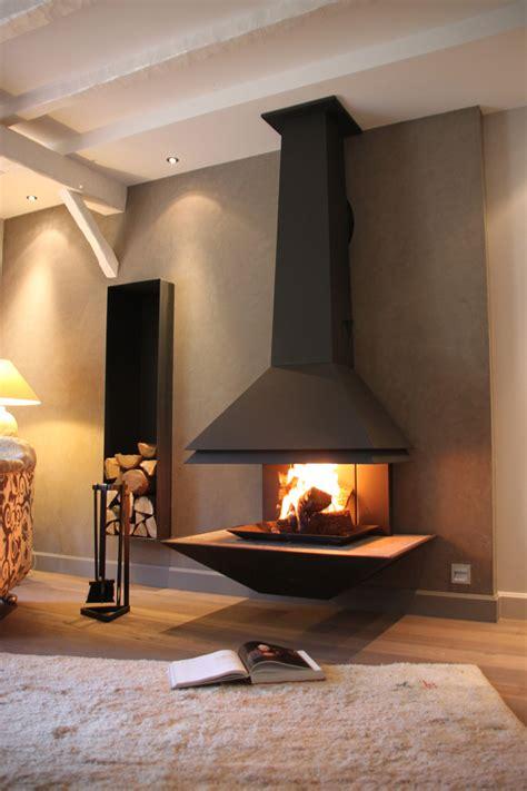 meuble suspendu chambre revger com poele a bois contemporain suspendu idée