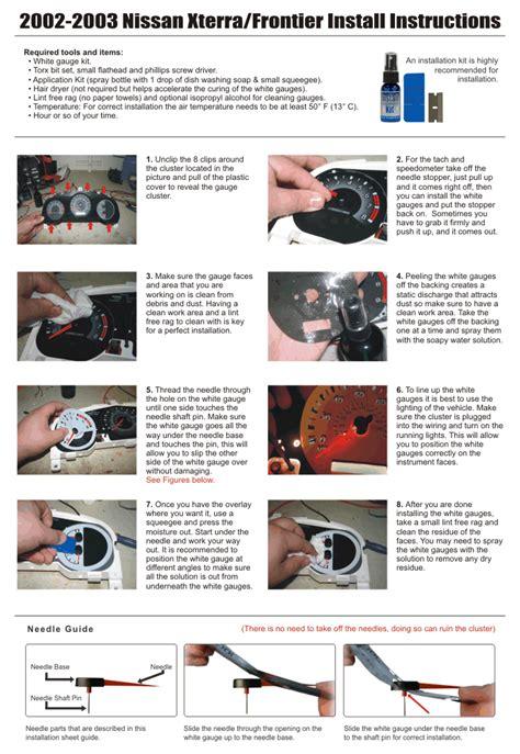 Find White Face Gauge Kit Fits Nissan Xterra