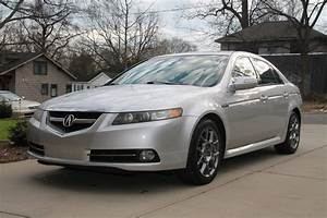Sold 2007 Acura Tl Type S  Mt  Asm  Silver  Nc