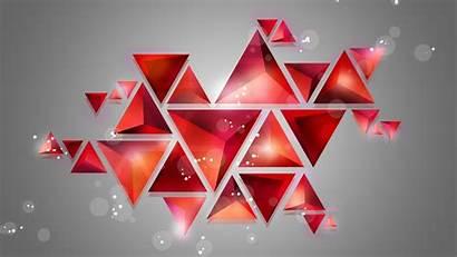 Geometric Shapes Shape Abstract Shine Background Wall