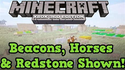 xbox minecraft horses