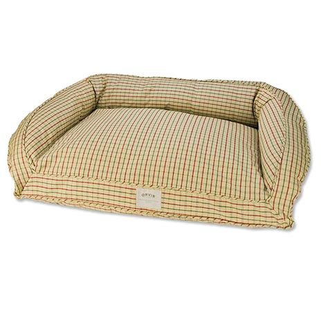 dog couch bed toughchew 174 deep dish dog bed orvis