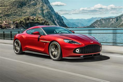 aston martin vanquish zagato production car revealed
