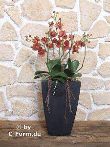 Kunstblumen Orchideen Topf : kunstblumen orchideen arrangement flair nr 2 ~ Whattoseeinmadrid.com Haus und Dekorationen