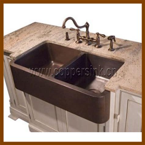 cheap double kitchen sink cheap copper kitchen sink double bowls kitchen copper sink