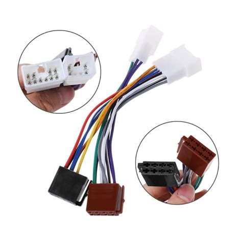 Toyotum Radio Wiring Adapter by Iso Car Radio Wiring Harness Adapter Cable For Toyota