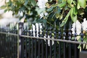 Gartenzaun Aus Metall : gartenzaun aus metall in anthrazit eleo ~ Orissabook.com Haus und Dekorationen