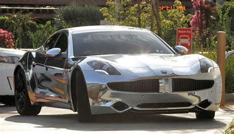 Justin Bieber Car by Justin Bieber Chrome Car Fisker Carma 2 Carz
