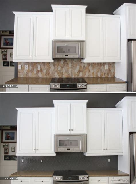 transformed  kitchen  paint painting kitchen