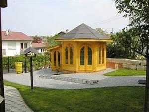 gartenpavillon aus holz fur jeden garten archzinenet With französischer balkon mit pavillon holz garten
