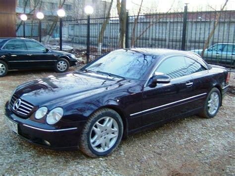 2000 Mercedes Cl 500 by 2000 Mercedes Cl500 Pictures 5000cc Gasoline Fr