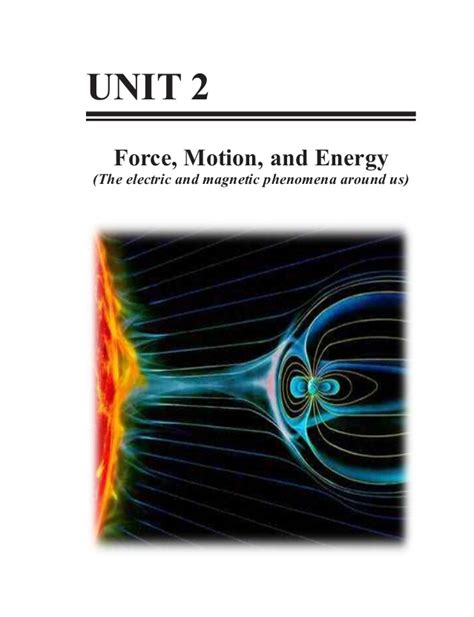 Grade 10 Science Learner' Material Unit 2force, Motion
