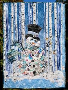 Portfolio Picture Size Sir Frosty Snowman Collage Paper Pattern Marveles Art