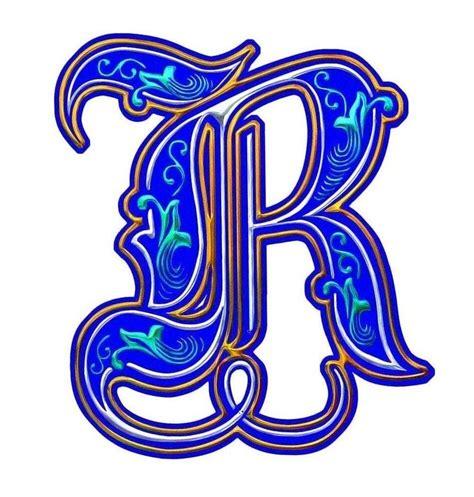 illuminated letter c illuminated letter r font design cuttings 39560