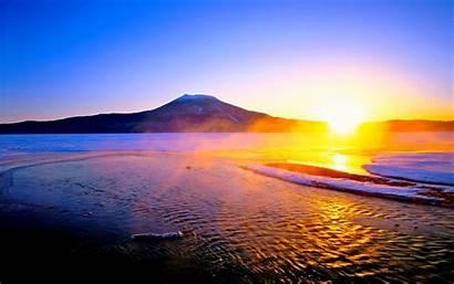 Rising Sun Japan Wallpapers Theme Windows Sunrise