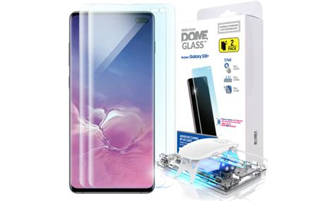 whitestone screen protector 2 pack for galaxy s10 costs