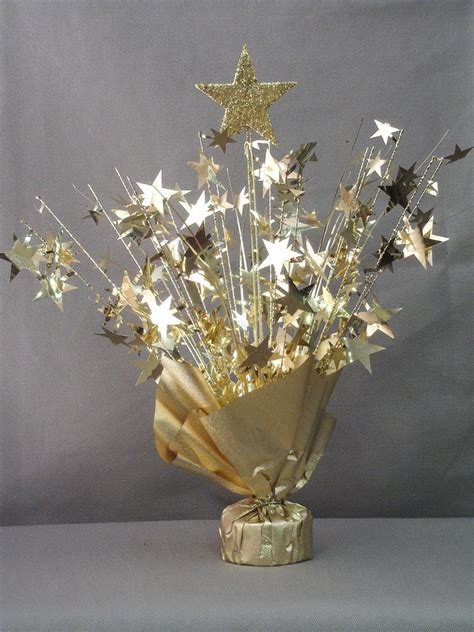 and decorations gold table centerpiece doolins