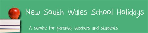 nsw school holidays