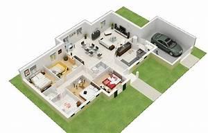 Sweet Home 3d En Ligne : plan 3d en ligne plan de maison gratuit d logiciel d ~ Premium-room.com Idées de Décoration