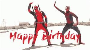 Super Hero Birthday GIF - HappyBirthday Dance Whip ...