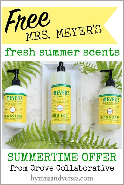 meyers  fresh summer scents hymns  verses