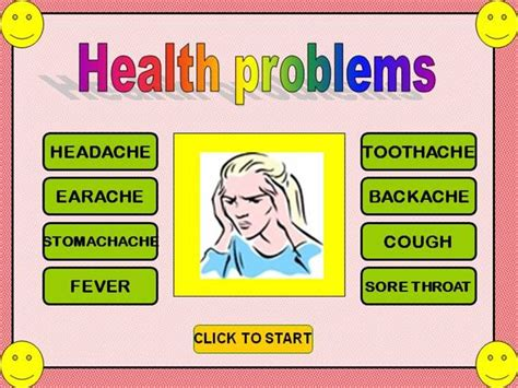 Health Problems Gameu Authorstream