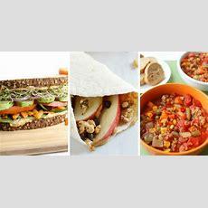 40 Healthy School Lunch Recipes  My Mommy World