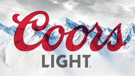 Coors Light Font by Contact Coors Light