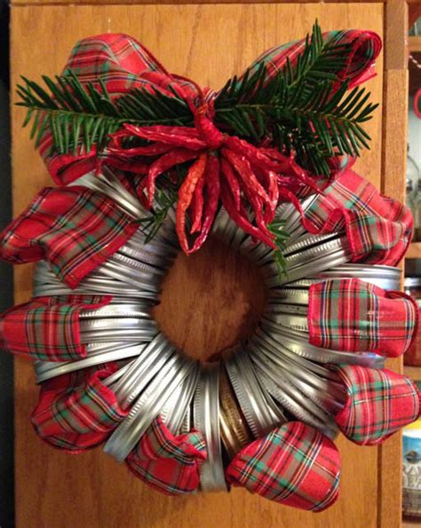 christmas door wreaths  craft ideas  cheap materials