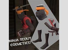 Ninja Scout Cosmetics Team Fortress 2 Skin Mods