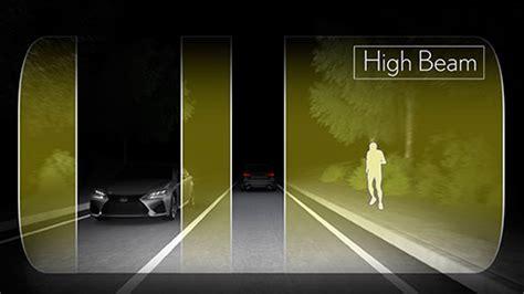 gs   safety ahs adaptive high beam system lexus