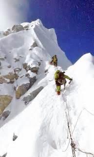 Mount Everest Summit Climbers