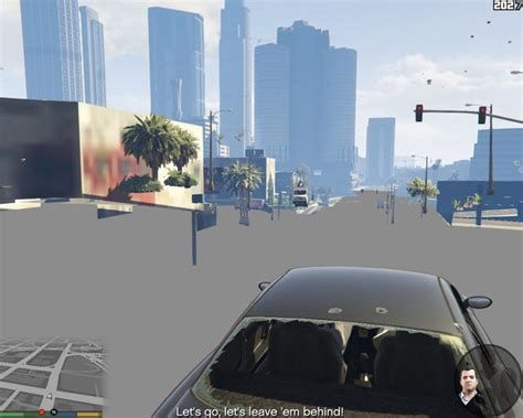 Grand Theft Auto  Blocky Graphical Issues And Missing