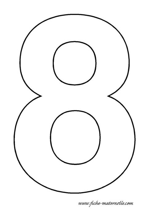 number  template crafts  worksheets  preschool