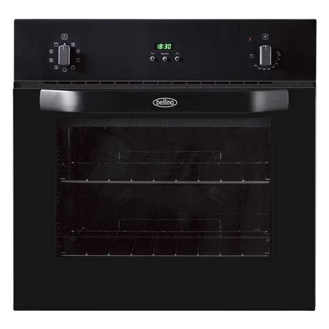 Buy Belling Bi60mf Black Single Built In Electric Oven
