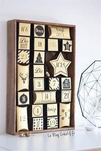 Idée Cadeau Calendrier De L Avent Adulte : mon calendrier de l 39 avent noir et or le blog cr ~ Melissatoandfro.com Idées de Décoration