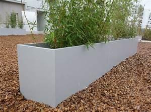 Bac A Fleur En Beton Rectangulaire : jardini re en fibre ciment bacs pour espaces publics by ~ Edinachiropracticcenter.com Idées de Décoration