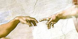 The gallery for --> The Creation Of Adam Michelangelo Original