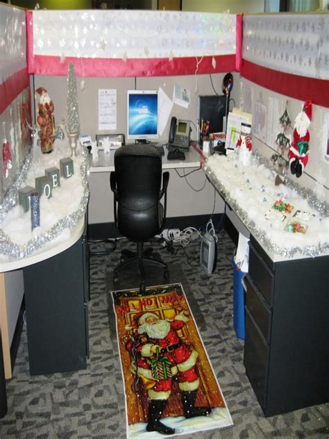 Office Cubicle Decorating Ideas Christmas