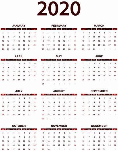 Calendar 2021 Transparent Chinese Printable