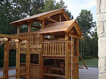 playsets playhouse swing plans