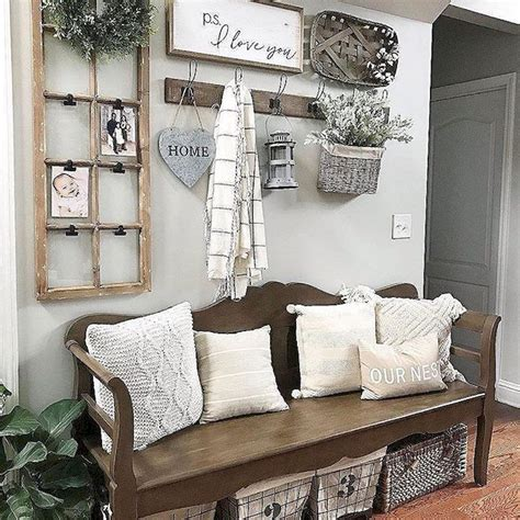 Best Interior Bench Ideas by Rustic Entryway Decorating Ideas 39 Lake House