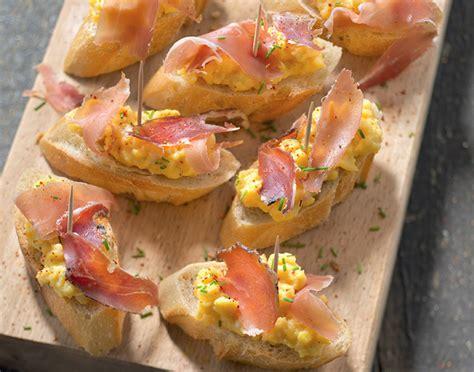 recette de canapé pintxo recette cyril lignac gourmand