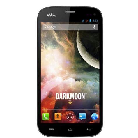 smartphone pas cher cdiscount wiko darkmoon bleu