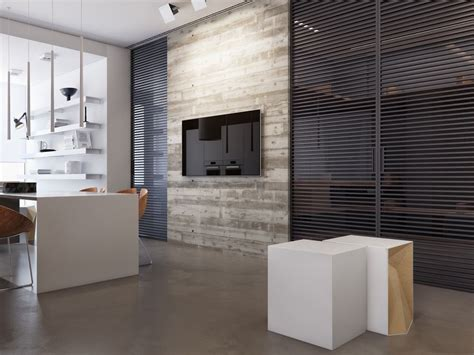 Two Apartments With Sleek Grayscale Interiors by Two Apartments With Sleek Grayscale Interiors идеи для