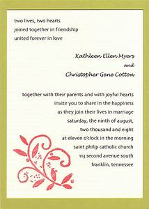20 popular wedding invitation wording diy templates ideas With wedding invitation wording joining two families