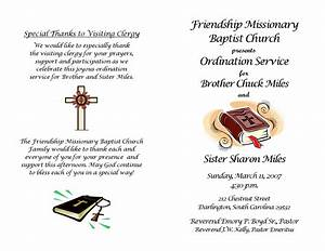 Ordination Service Program
