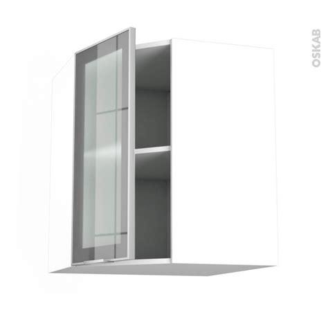 meuble cuisine haut porte vitr馥 meuble haut cuisine vitre maison design modanes com