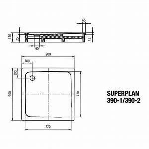 Kaldewei Duschwanne 90x90 : kaldewei superplan duschwanne avantgarde 390 2 90x90 cm tr ger design in bad ~ Frokenaadalensverden.com Haus und Dekorationen